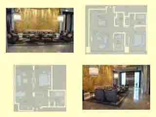 """租赁 酒店式服务公寓          速燕点评:以""""菊""""为设计灵感,给来客以图片"""
